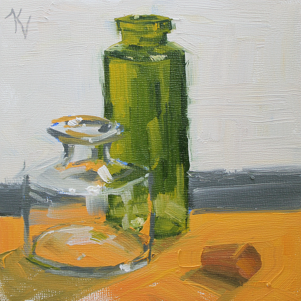 Uncorked original still life oil painting of glass for How to paint glass with oil paint
