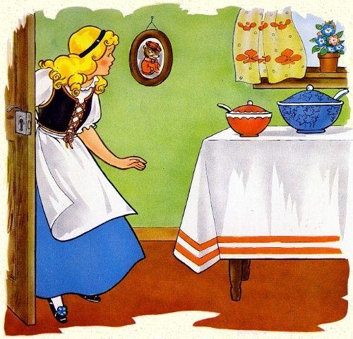 english is fun goldilocks and the three bears. Black Bedroom Furniture Sets. Home Design Ideas