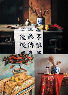 Китайский натюрморт, китайская живопись