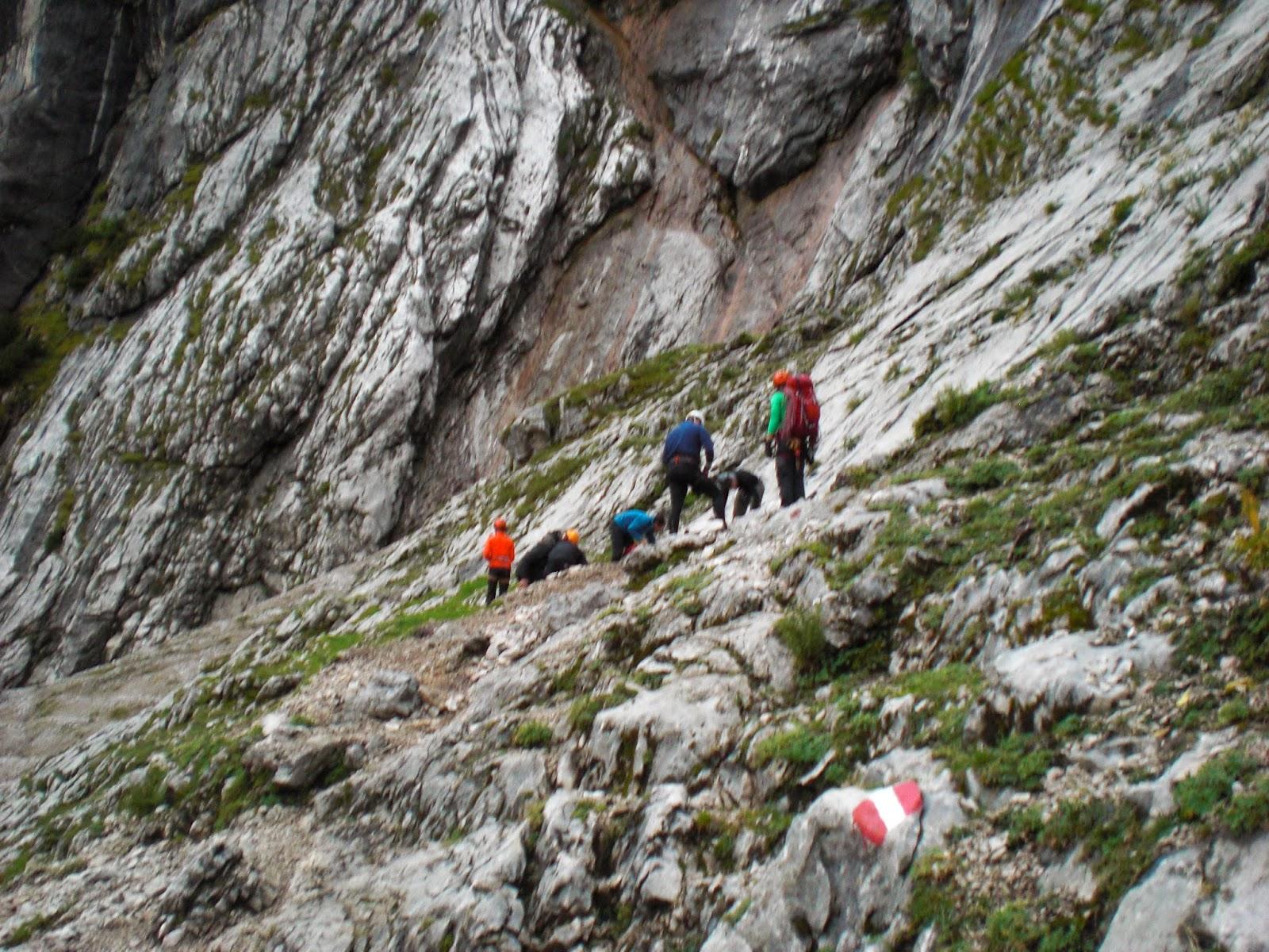 Klettersteig Höllental : Höllental klettersteig b c alpine abenteuer