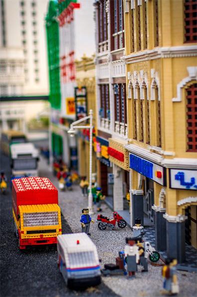 legoland Malaysia  KL downtown view