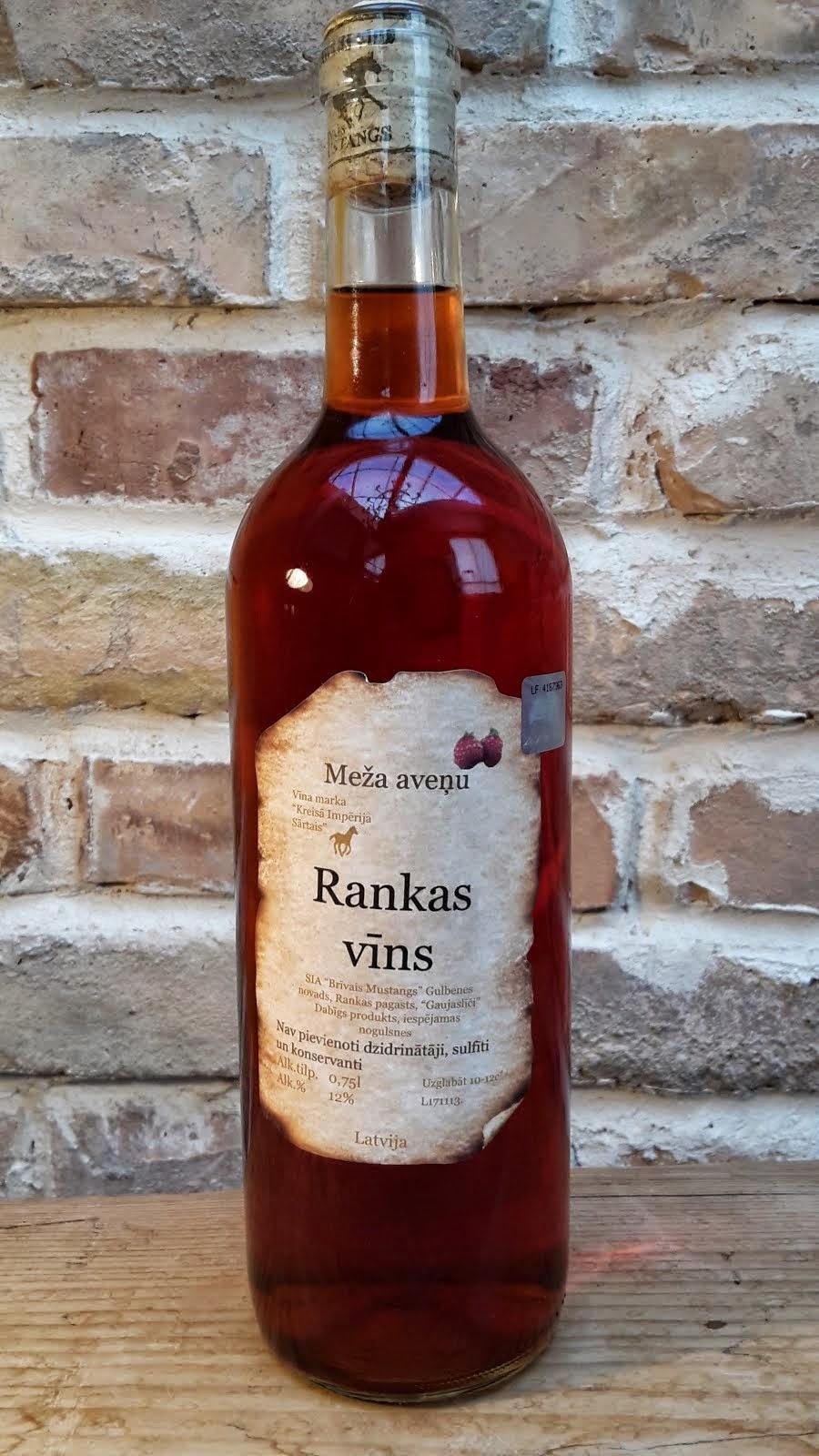 Meža aveņu pussausais vīns 0.75 l
