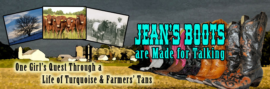 Jean's Boots Are Made For Talking