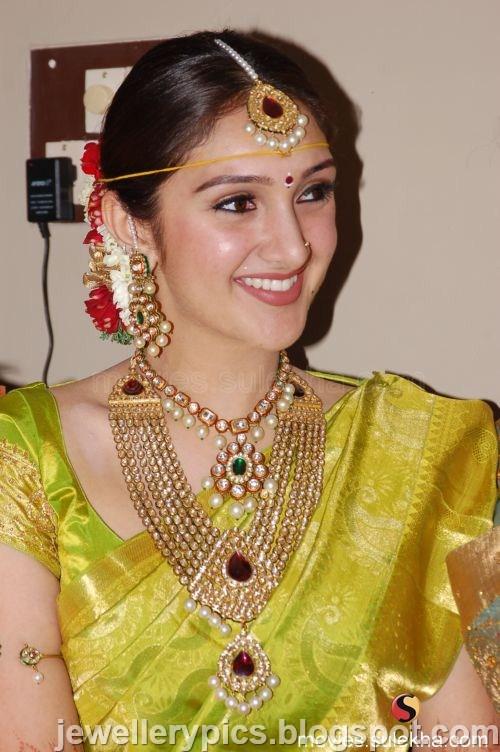 South Indian Actress Sridevi Wedding Jewellery Uncut
