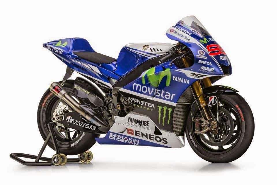 Foto motor Yamaha MotoGP 2014 no 99 milik Lorenzo