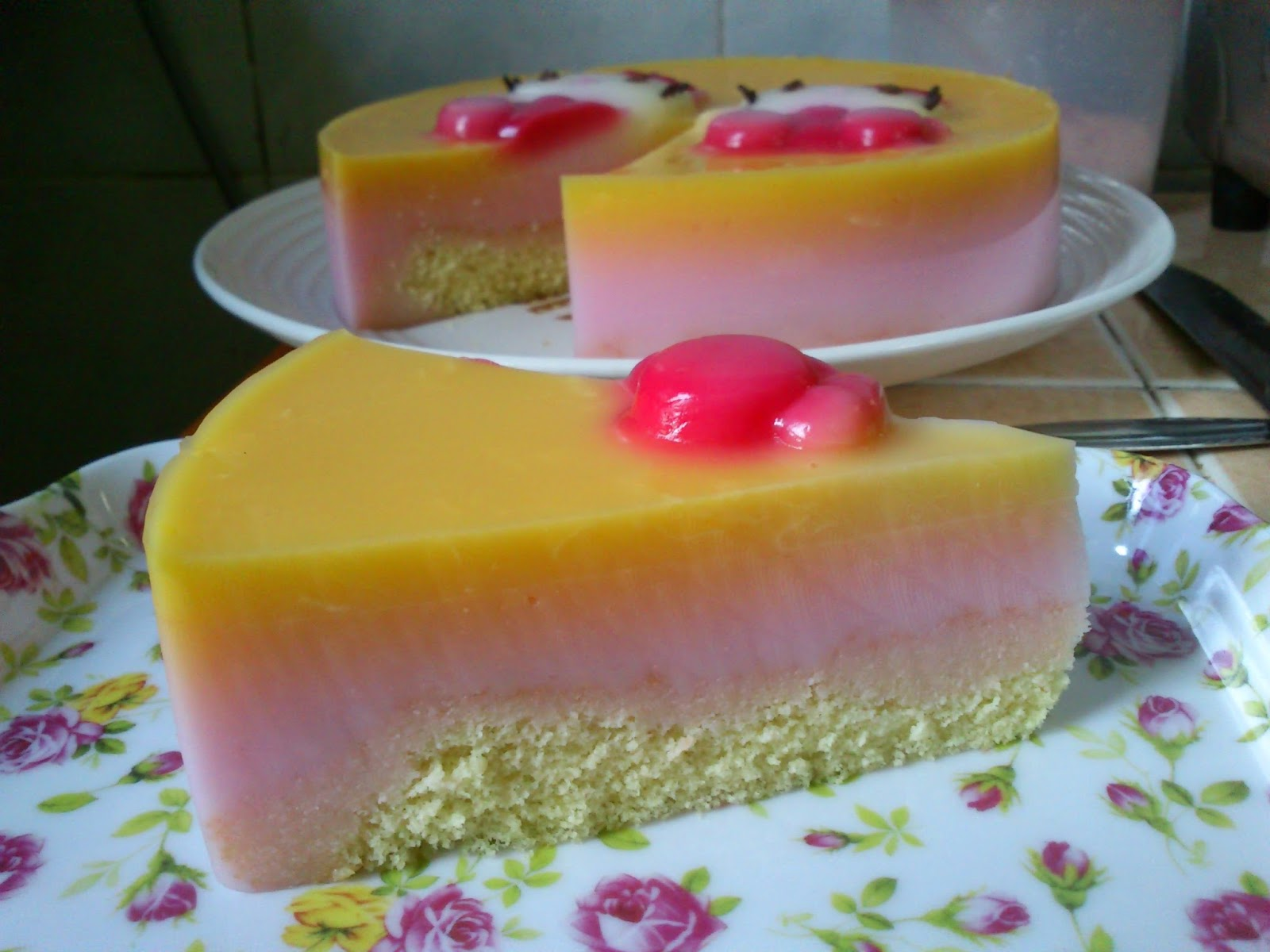Hello Kitty Jelly Cake Recipe