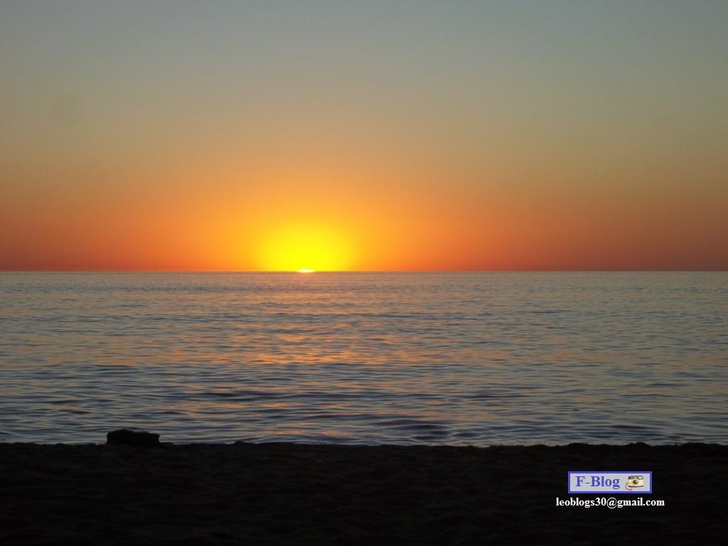 Punta del Este - Atardecer en la playa - Playa Mansa