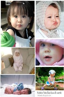 Foto bayi lucu, imut, dan cantik