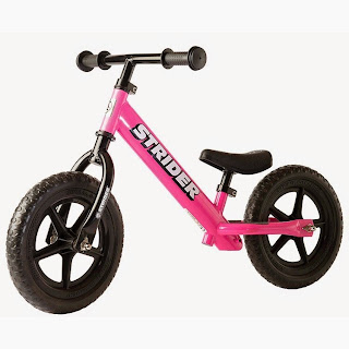 Enter the Strider Bike Giveaway. Ends 6/6.