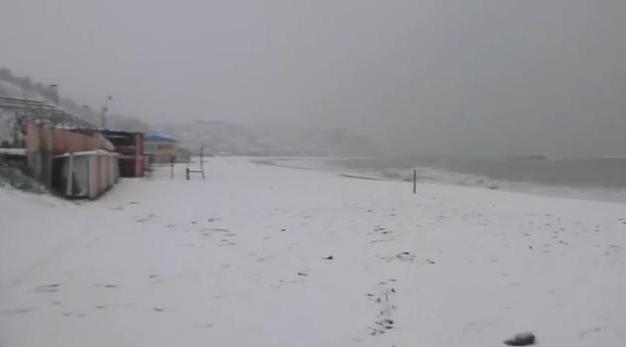 Numana nevicata del febbraio 2012