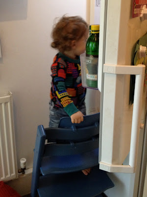 Day 124 of The 366 Project, Raiding the fridge
