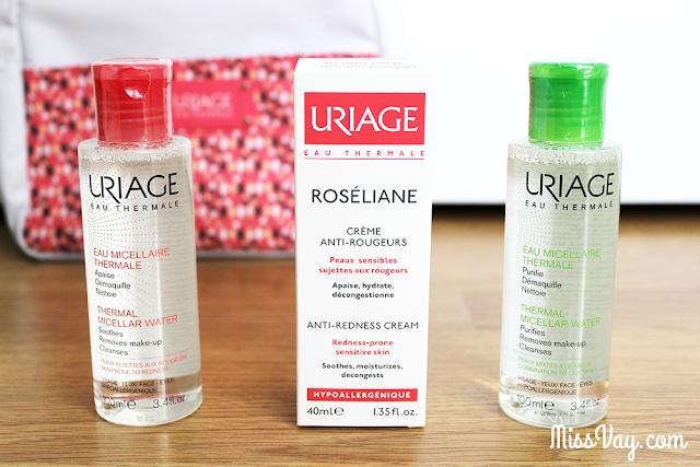 Nouveautés chez Uriage : eaux micellaires et crème anti-rougeurs
