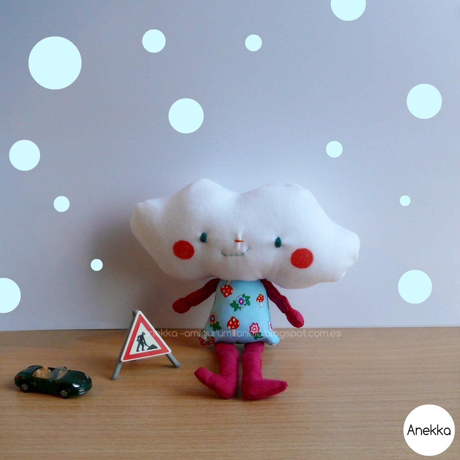 plush doll anekka handmade