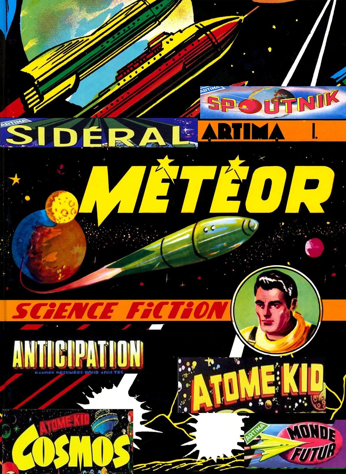 Les collections de science-fiction d'Artima