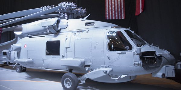 Danish MH-60R helicopter