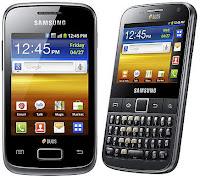 Samsung Galaxy Y Duos dan Galaxy Y Pro Duos