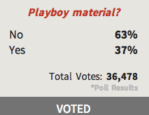 GinaMarie Playboy Poll