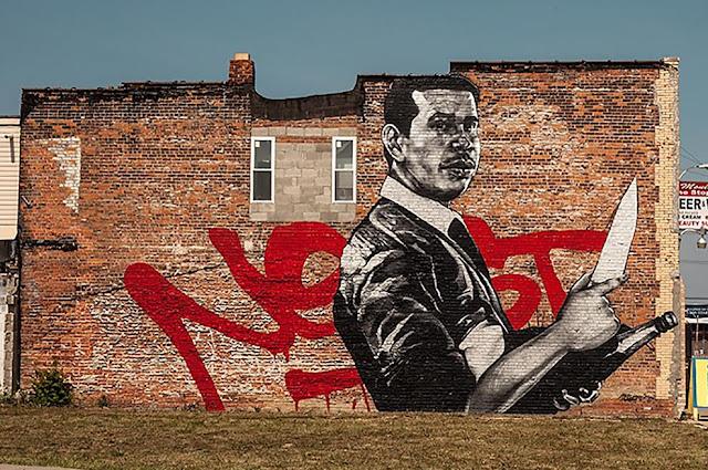 Askew Tribute To Nekst Street Art Mural In Detroit