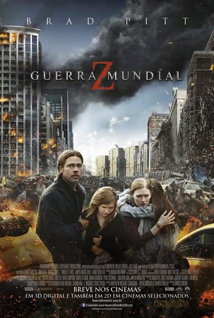 Guerra Mundial Z - Novo filme de Zumbis ganha poster nacional!