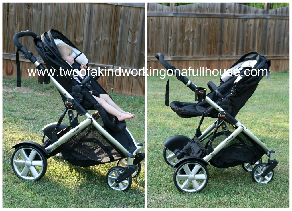 Britax B-Ready Stroller Review + Giveaway | Two of a kind, working ...