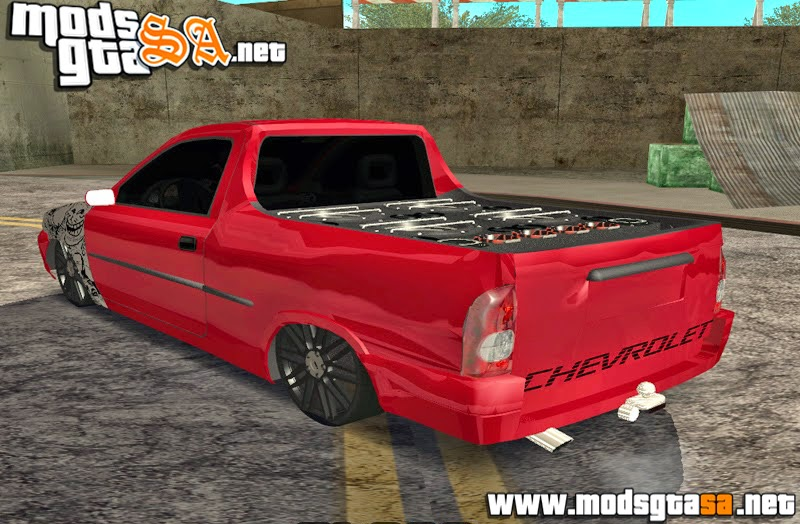 SA - Chevrolet Corsa Pick-Up Edit + Som