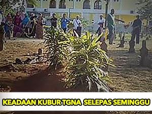 Thumbnail image for (Gambar) Kubur Arwah Tuan Guru Nik Aziz Selepas Seminggu Meninggal Dunia