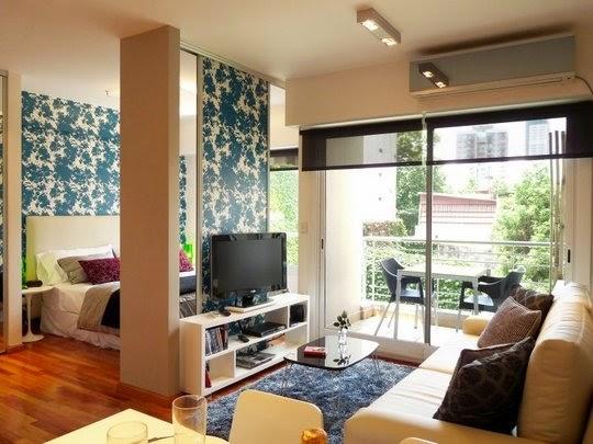 ideias decoracao kitnet : ideias decoracao kitnet:Divida os cômodos: Parece meio óbvio mas quem mora em kitnet