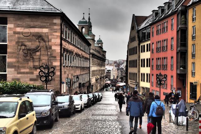 norimberská ulice // street in Nuremberg