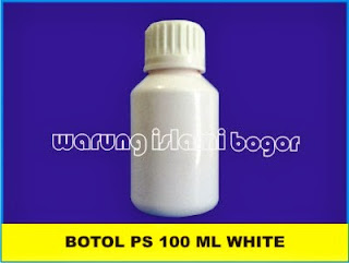 Botol PET PS 100 ml White