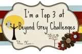 Made it to Top 3 In the Beyond Grey Challenge #2