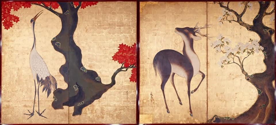 La grulla y el ciervo