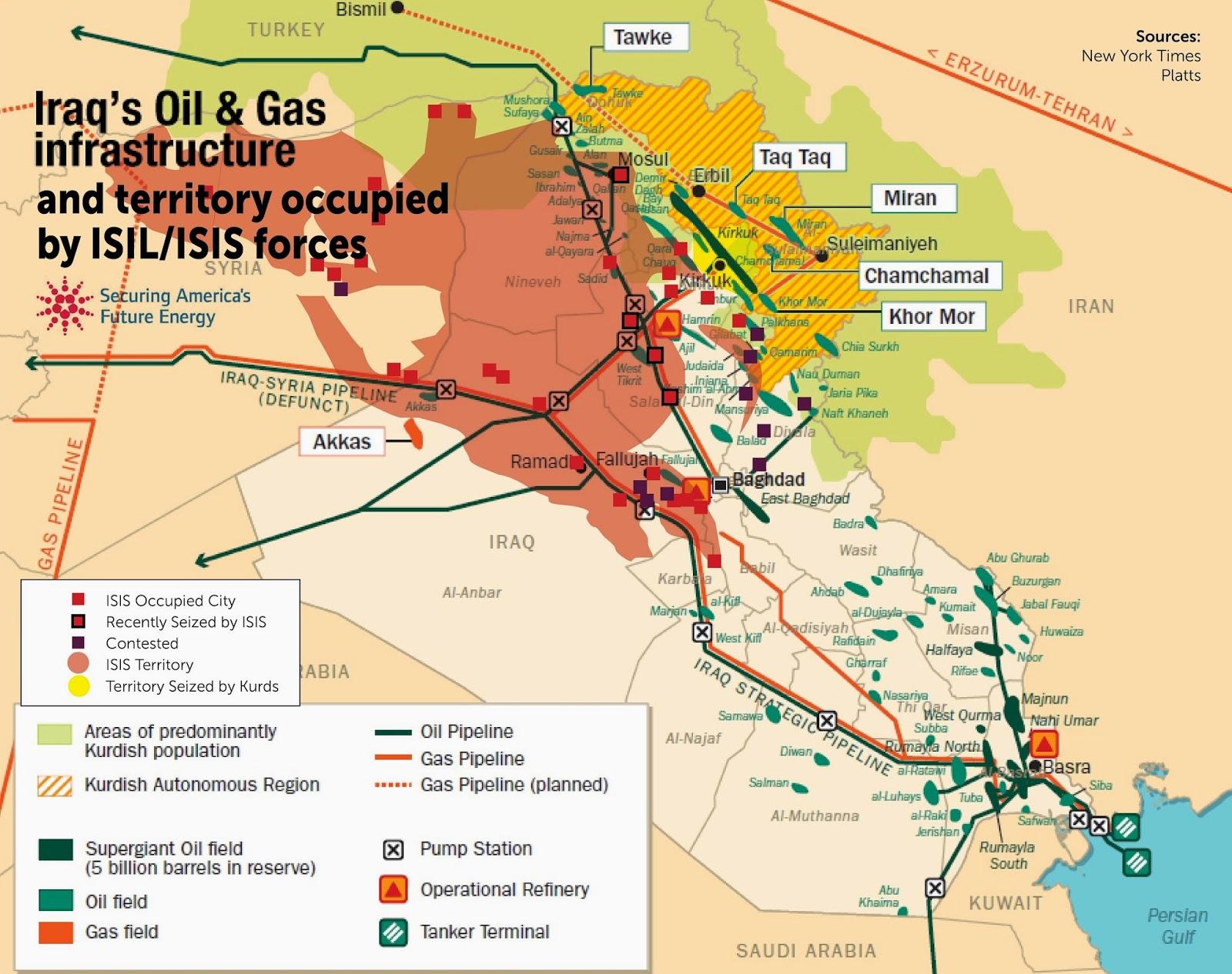 Il Petrolio dello Stato islamico. a chi viene venduto?