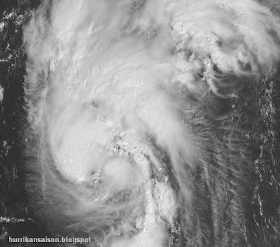 Tropischer Sturm MARIA: Fast Hurrikan und verdammt schnell - schlecht und gut für Bermuda, Neufundland, Bermudas, Sturmwarnung, Maria, aktuell, Atlantik, September, 2011, Hurrikansaison 2011, Satellitenbild Satellitenbilder,