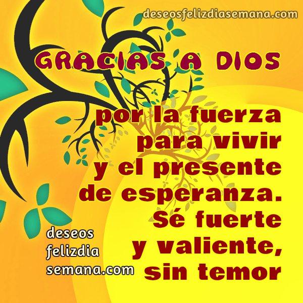 frases de gracias a Dios, mensaje cristiano de agradecimiento por buen día, por la vida, buenos deseos para ti y para mí.