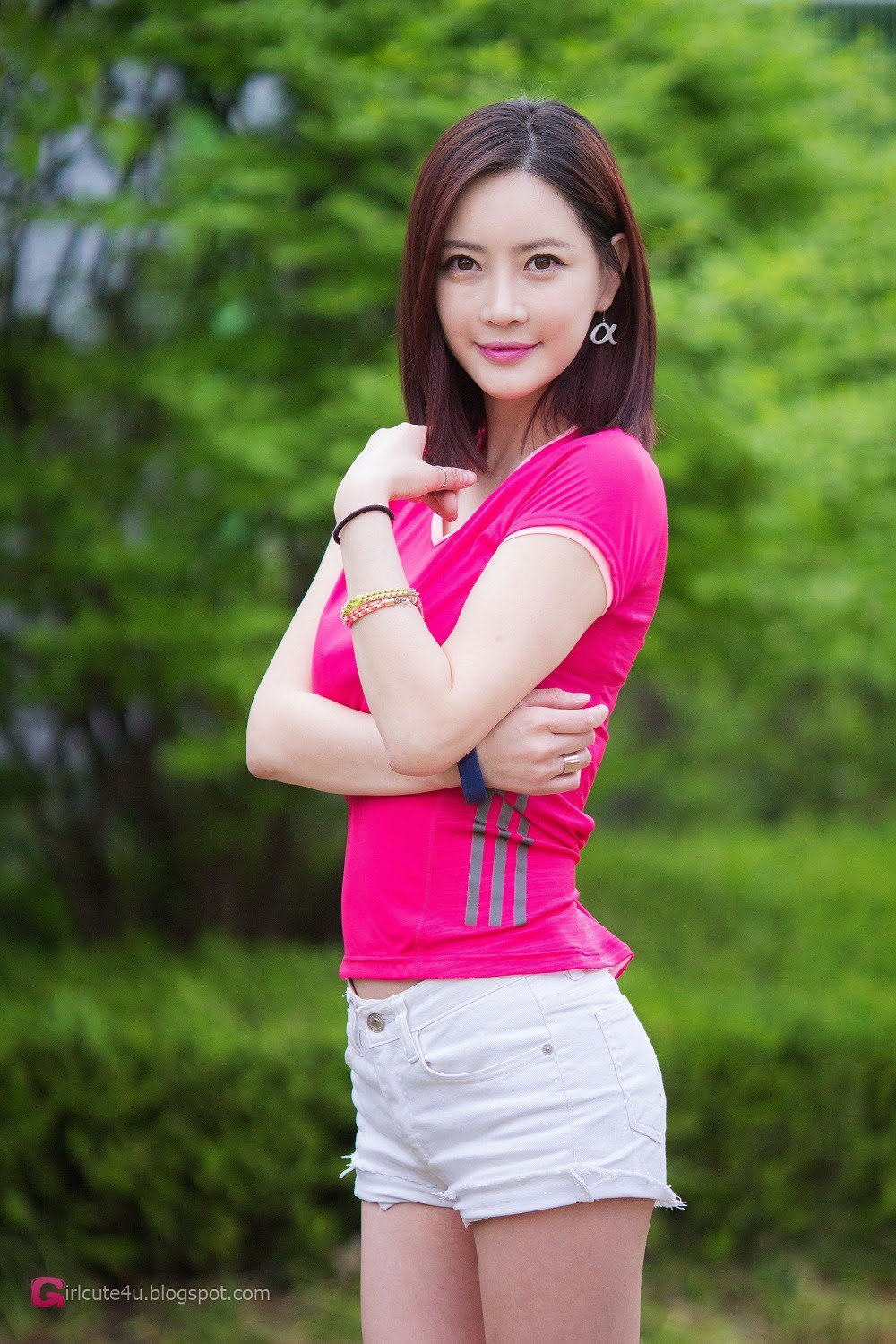 4 Min Soo Ah - P&I 2014 - very cute asian girl-girlcute4u.blogspot.com