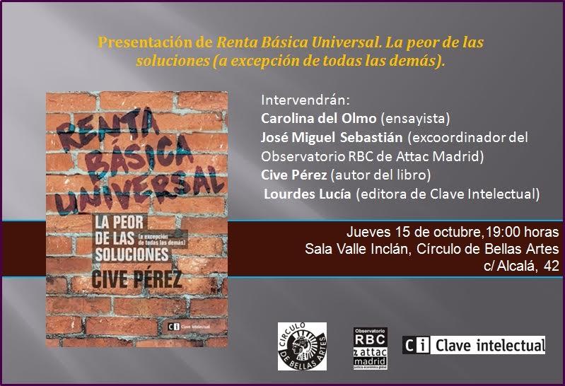Presentación Círculo de Bellas Artes