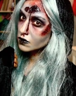 la llorona the weeping woman halloween makeup style for girls