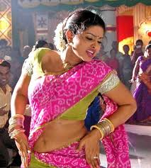 Sneha in pink sari - Navel - Sneha Hot Pics in Sari