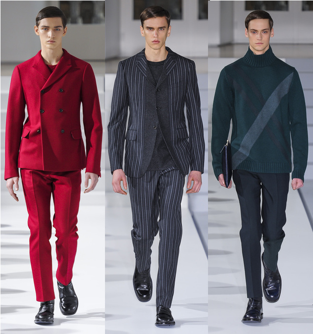 Jil Sander Fall/Winter 2013 Men's Collection