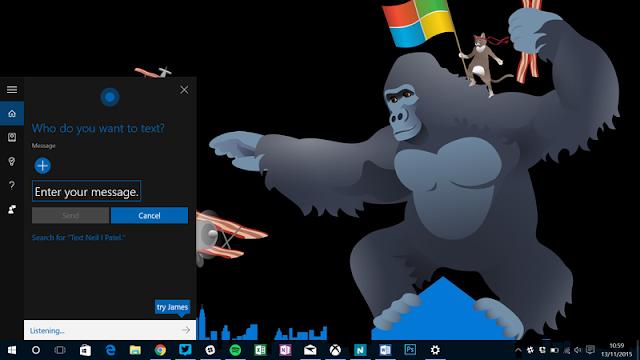 Atualização de novembro da Microsoft para o Windows 10