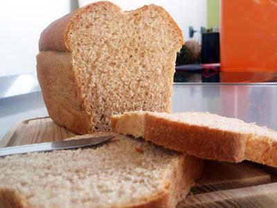 pan de molde integral casero