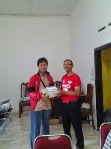 Rizkyzone di kantor JNE Tulungagung