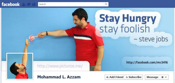 mohammad l azzam facebookfever Amazing Creative Facebook Timeline Covers