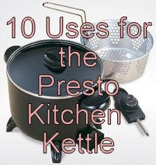 presto kitchen kettle multi cooker steamer manual