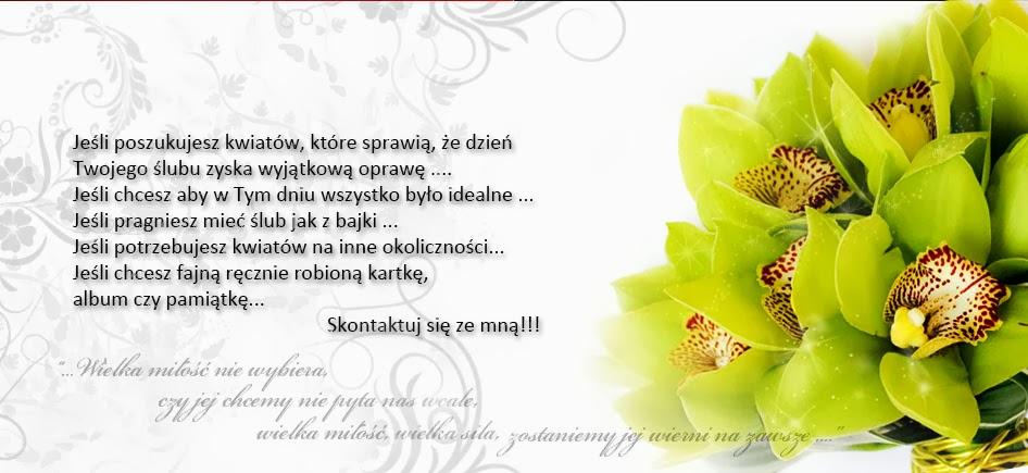 Katerina kwiaty na ślub i nie tylko...