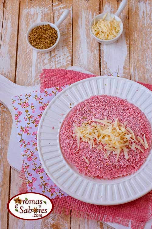 tapioca colorida recheada