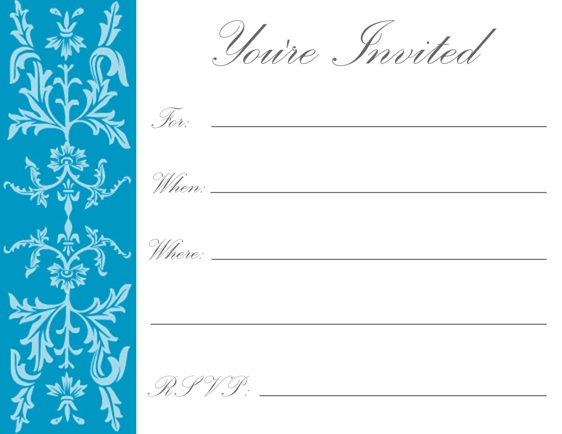 Printable Birthday Invitations | Luxury Lifestyle, Design ...