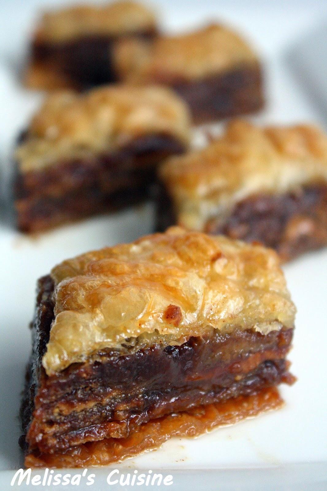 Melissa's Cuisine: Biscoff Baklava