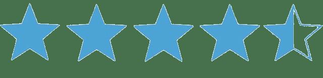 Rating: 4.5 Stars