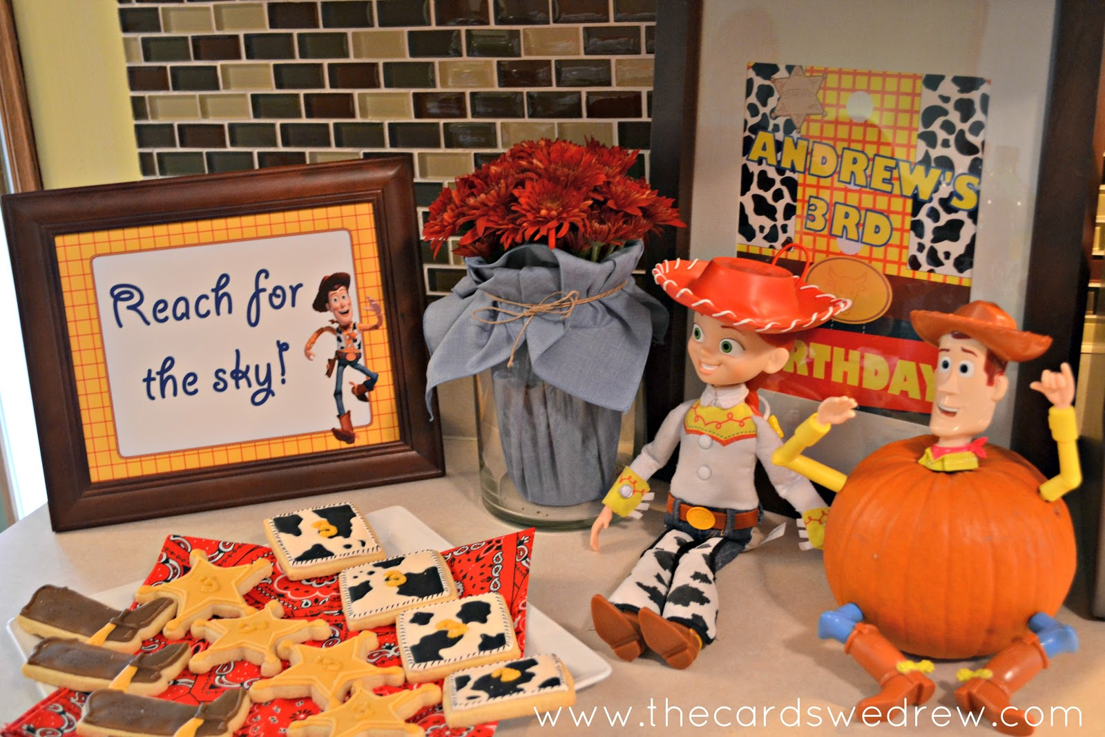 My Son's Toy Story Birthday Party - The Cards We Drew